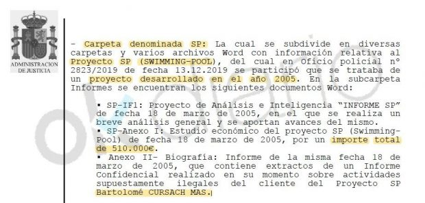 """El juez que encarceló al mafioso Cursach sobre el informe 'fake' de Villarejo: """"Nunca se incorporó a mi sumario"""""""