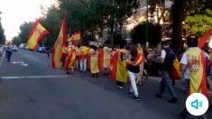 Manifestante de Sevilla identificado por la Policía.