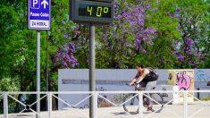 Altas temperaturas en Sevilla.