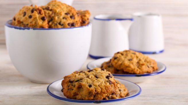 Receta de galletas de ron con pasas