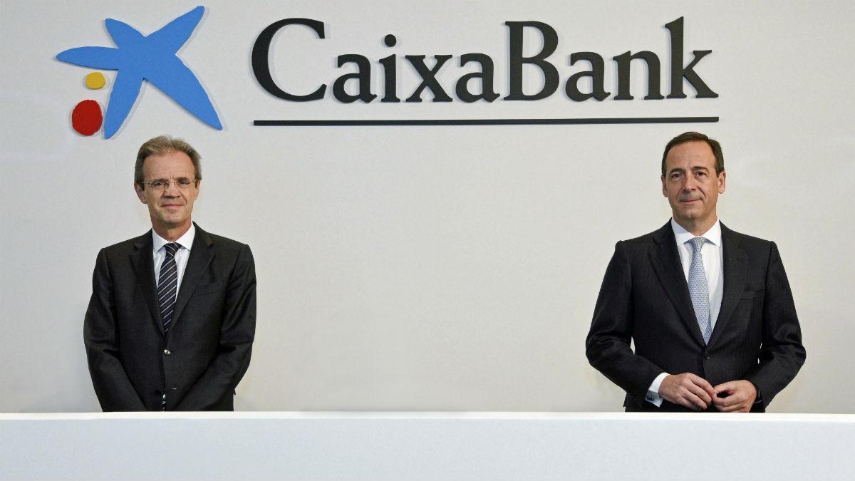 Jordi Gual y Gonzalo Gortázar, de Caixabank