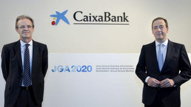 Caixabank subraya su fortaleza financiera y su compromiso social para contribuir a la recuperación