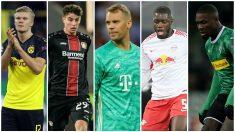 Los cinco jugadores a seguir en la Bundesliga.