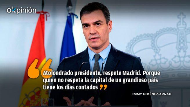 El César Sánchez repudia a Madrid