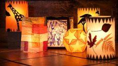Todos los pasos para poder hacer una linterna mágica con los niños en casa