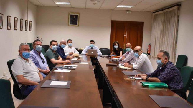 Reunión mantenida este sábado por la Comisión de Políticas Sociales Delegación del Gobierno-Ciudad Autónoma de Melilla.