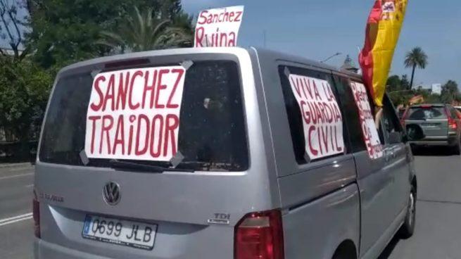 Disparan a un coche en Jaén.