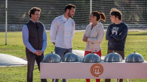 Saúl Craviotto visita 'MasterChef'