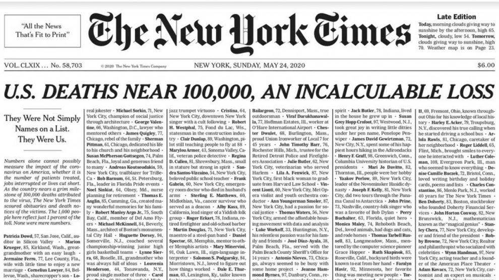 Porta del New York Times