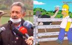 Miguel Ángel Revilla se convierte en viral gracias a una avestruz
