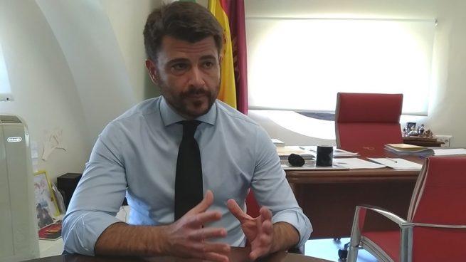 Beltrán Pérez, líder del PP de Sevilla.