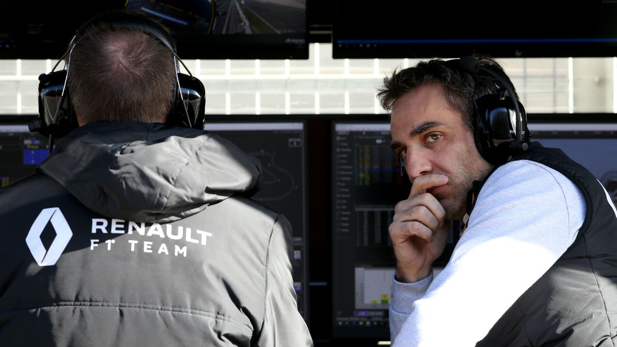 Cyril Abiteboul, jefe de Renault. (Getty)