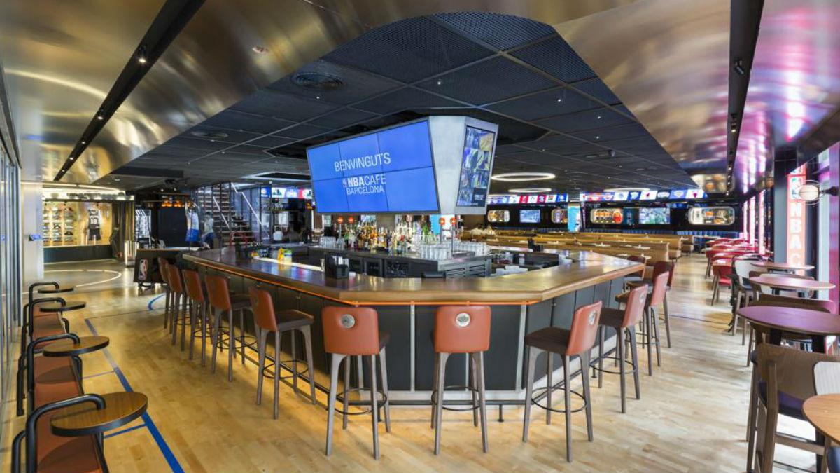 El NBA Café de Barcelona cierra sus puertas. (NBA)