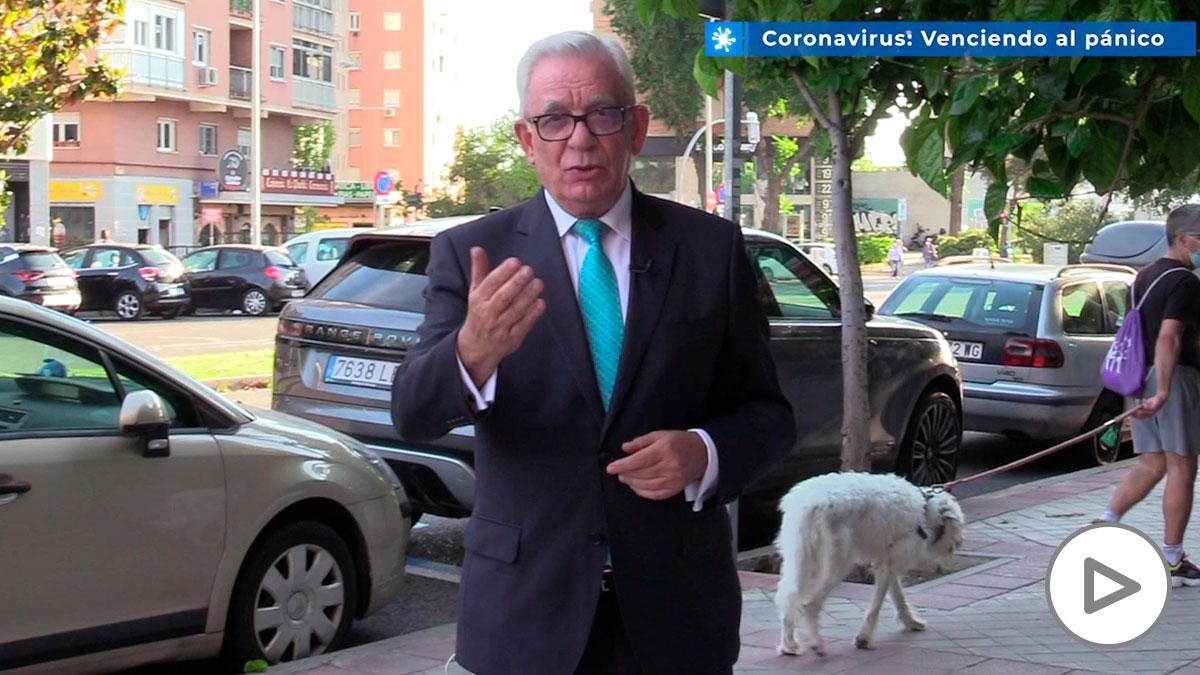 Sánchez Martos: «Los manifestantes deben mantener la distancia para no poner su vida en riesgo»