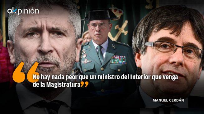 Marlaska aprovecha el Covid19 para guillotinar al coronel De los Cobos bajo la presión de Sánchez, ERC y PSC