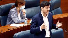 El portavoz de Más Madrid Pablo Gómez Perpinyà. Foto: Europa Press