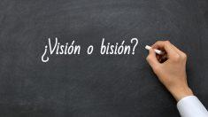 Se escribe visión o bisión