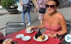 Vuelve la vida a las terrazas de Barcelona:  «¡Qué felicidad, después de dos meses!»