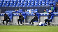 Banquillo del Schalke. (Getty)
