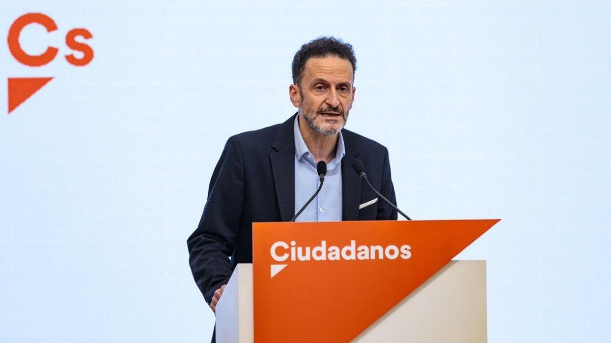 El portavoz adjunto de Ciudadanos en el Congreso de los Diputados, Edmundo Bal. Foto: EP