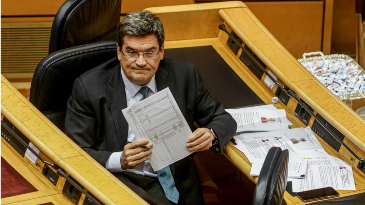 José Luis Escrivá, ministro de Inclusión y Seguridad Social, intenta modificar el sistema de pensiones