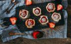 Receta de fresas con hojaldre y mermelada