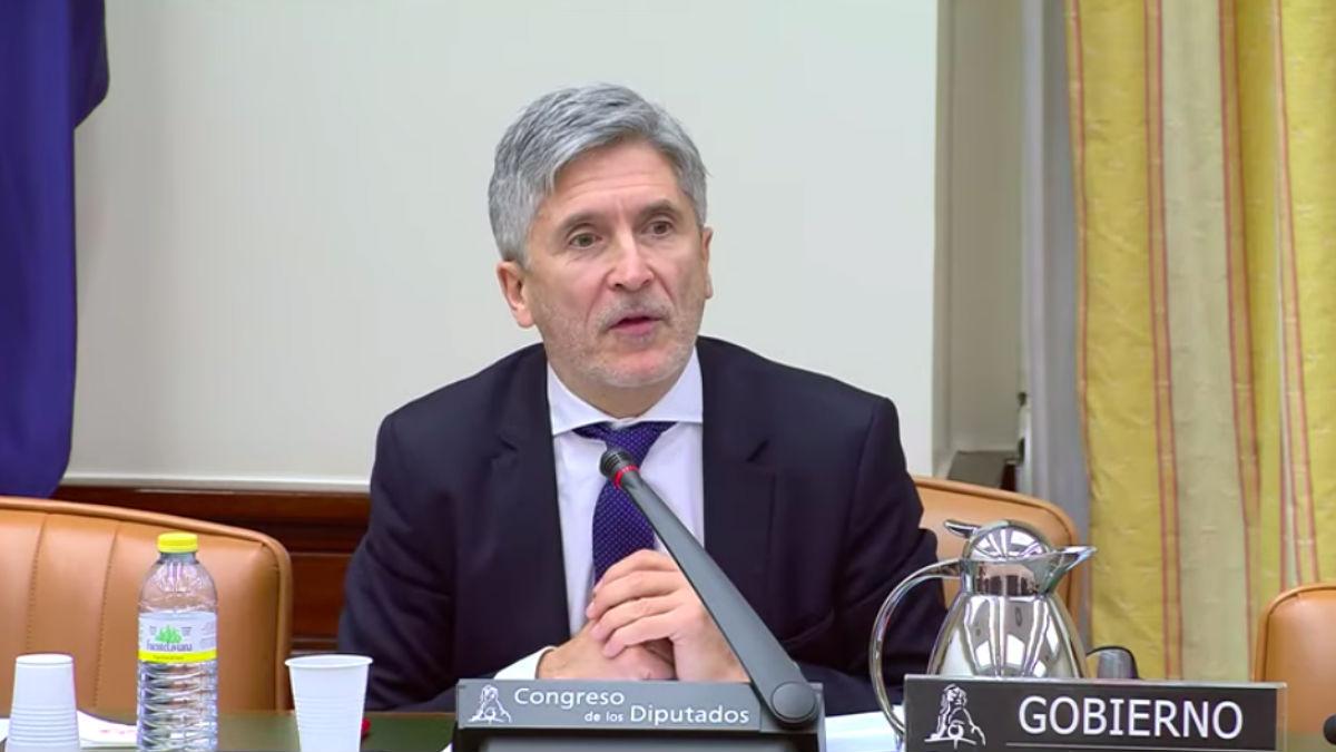 Fernando Grande-Marlaska, ministro del Interior.