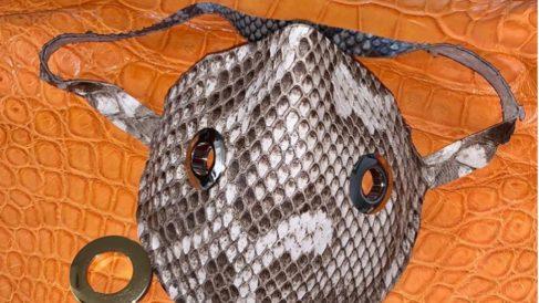 Mascarillas piel de serpiente