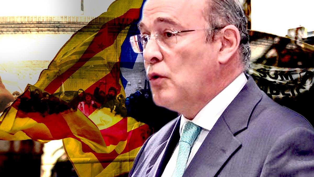 El separatismo catalán celebra la purga del coronel Diego Pérez de los Cobos al frente de la Comandancia de la Guardia Civil en Madrid.