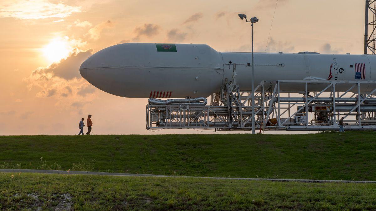 Todo está listo para el lanzamiento de la nave Crew Dragon a través del Falcon 9