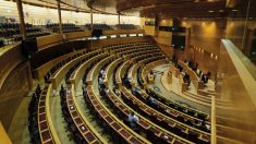 Vista general del hemiciclo del Senado. (Foto: Jesús Hellín : Europa Press)