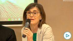 La directora de Salud Pública, Pilar Aparicio.