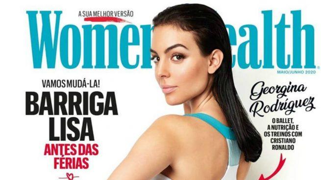 Georgina Rodríguez, en la portada de Women's Health.