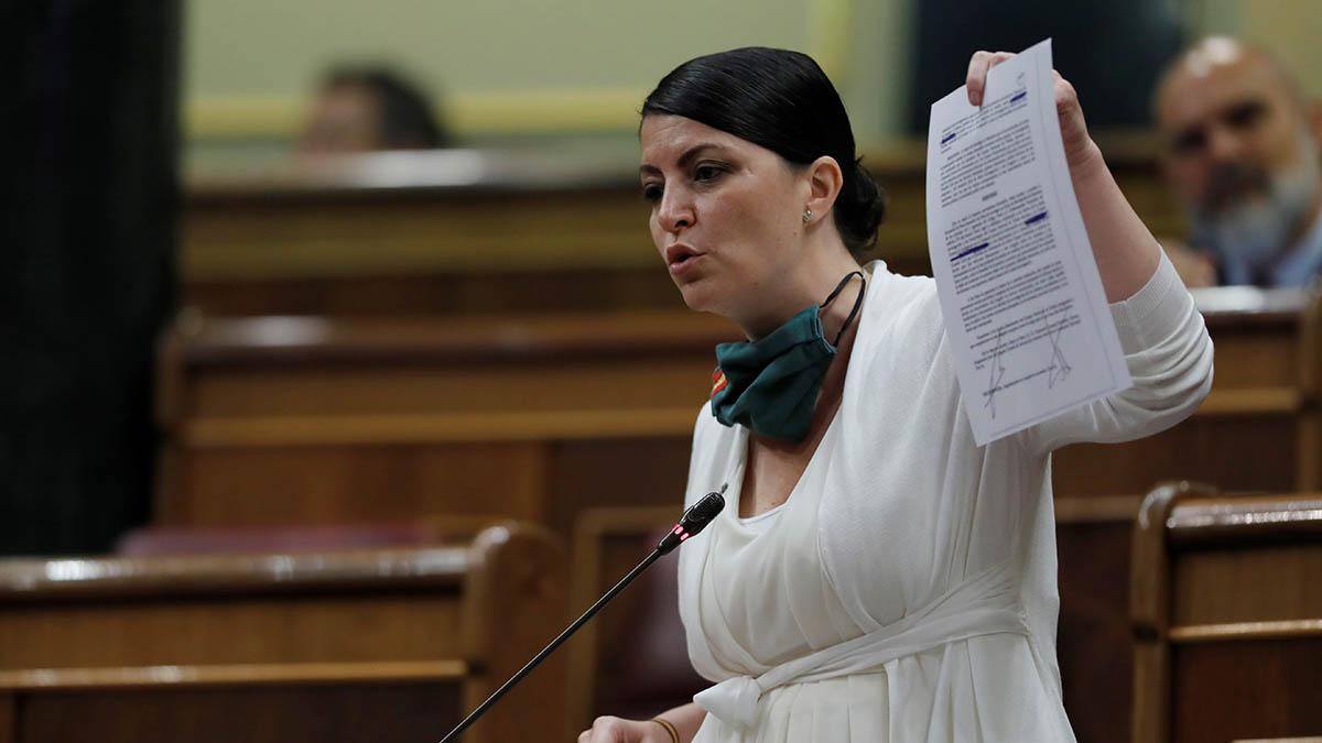 La diputada de Vox en el Congreso, Macarena Olona.