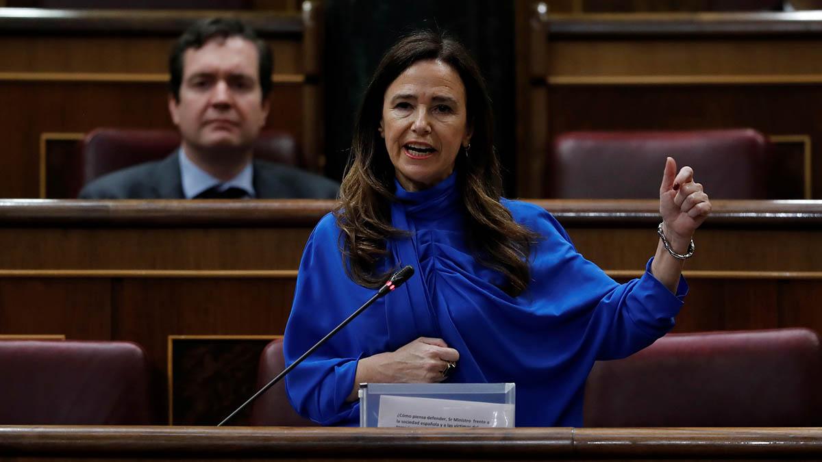La diputada del PP Teresa Jiménez-Becerril.