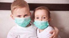 Las mascarillas son un peligro en menores de dos años