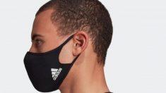 Adidas arrasa con su mascarilla reutilizable y solidaria