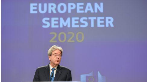 Paolo Gentiloni, comisario europeo de Economía (Europa Press).