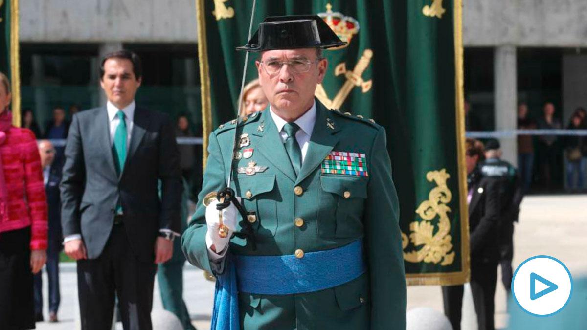 El coronel Diego Pérez de los Cobos, durante su jura como jefe de la Comandancia de la Guardia Civil en Madrid. (Foto: Efe)