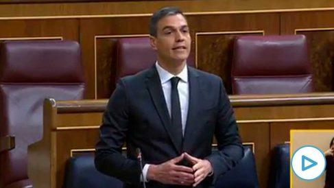 Pedro Sánchez miente en el Congreso: Javier Maroto no pactó los presupuestos de Vitoria con Bildu.