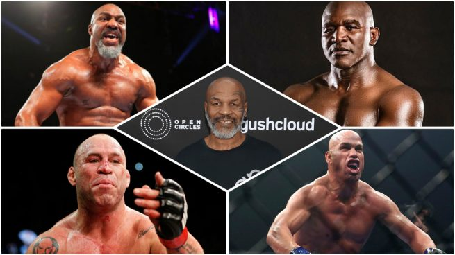 rivales Mike Tyson