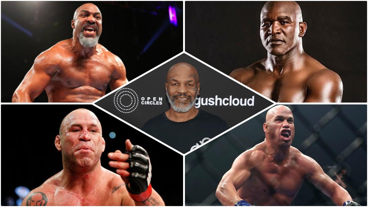 Los posibles rivales de Mike Tyson en su vuelta al cuadrilátero.