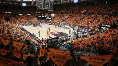Imagen de la Fonteta durante un partido de la Liga Endesa. (valenciabasket.com)