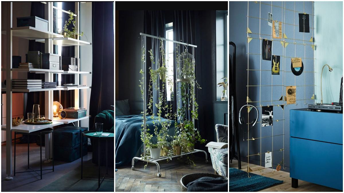 Ikea tiene propuestas muy interesantes para dividir ambientes