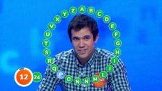 Nacho concursante de  'Pasapalabra'