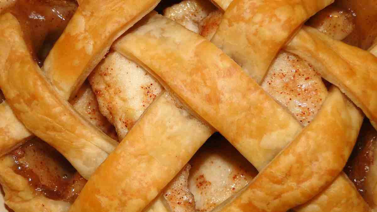 Receta de tarta integral de manzana y pera