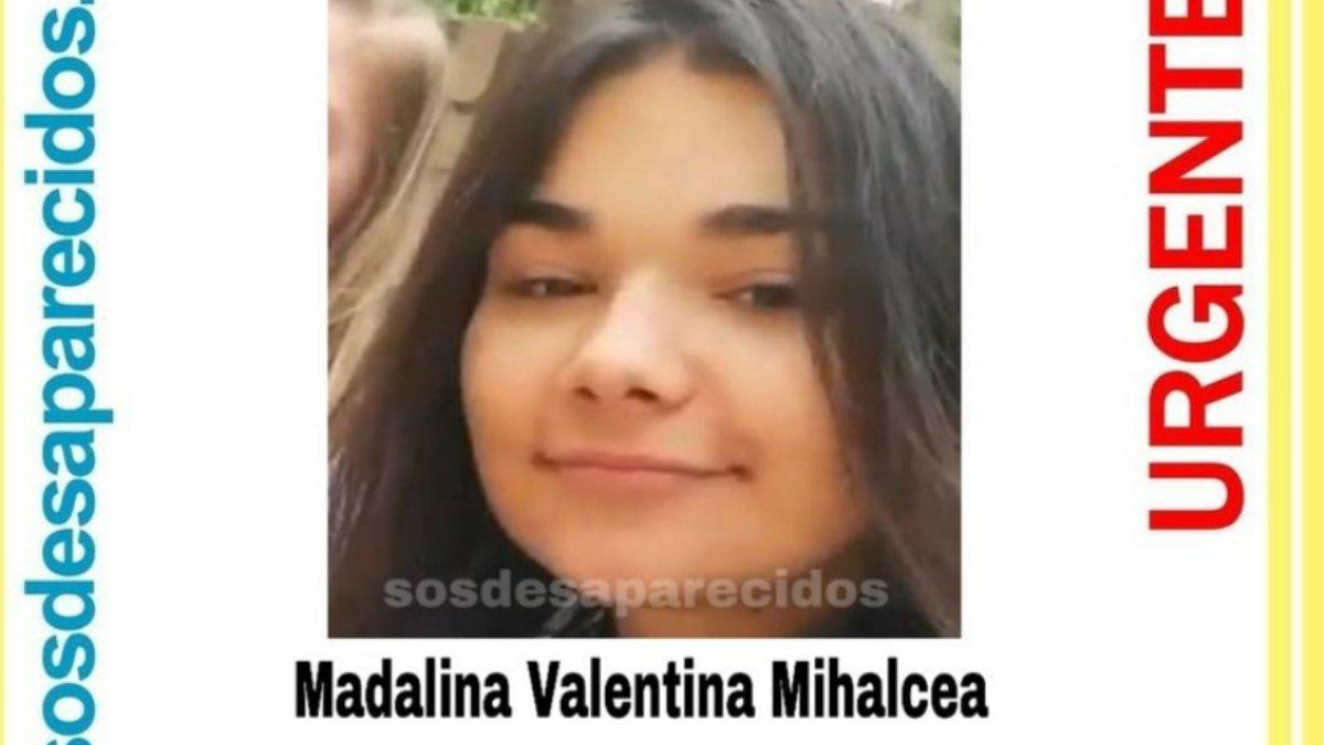 Madalina desapareció el 17 de mayo