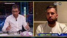 Jordi Alba estuvo en 'El Hormiguero'