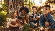 Los mejores juegos para que los niños jueguen en la naturaleza