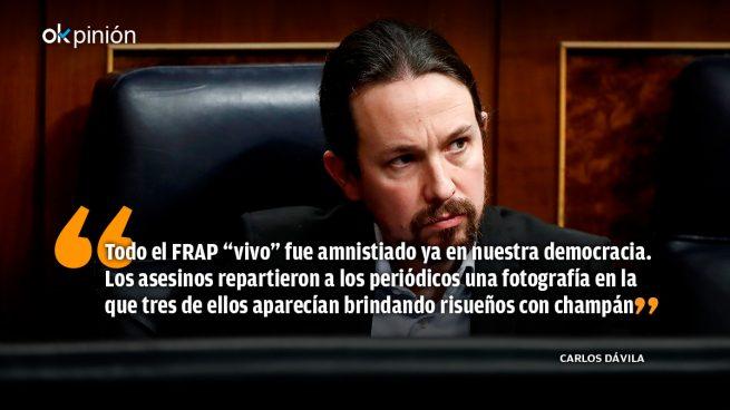 El PSOE y el FRAP del padre de Iglesias